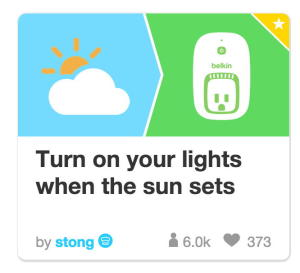 IFTTT_Wemo_recipe