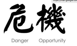 Wei ji: crisis combines danger and opportunity