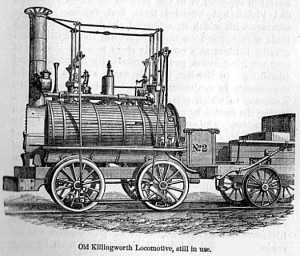 George Stephenson's Killingworth locomotive Source: Project Gutenberg